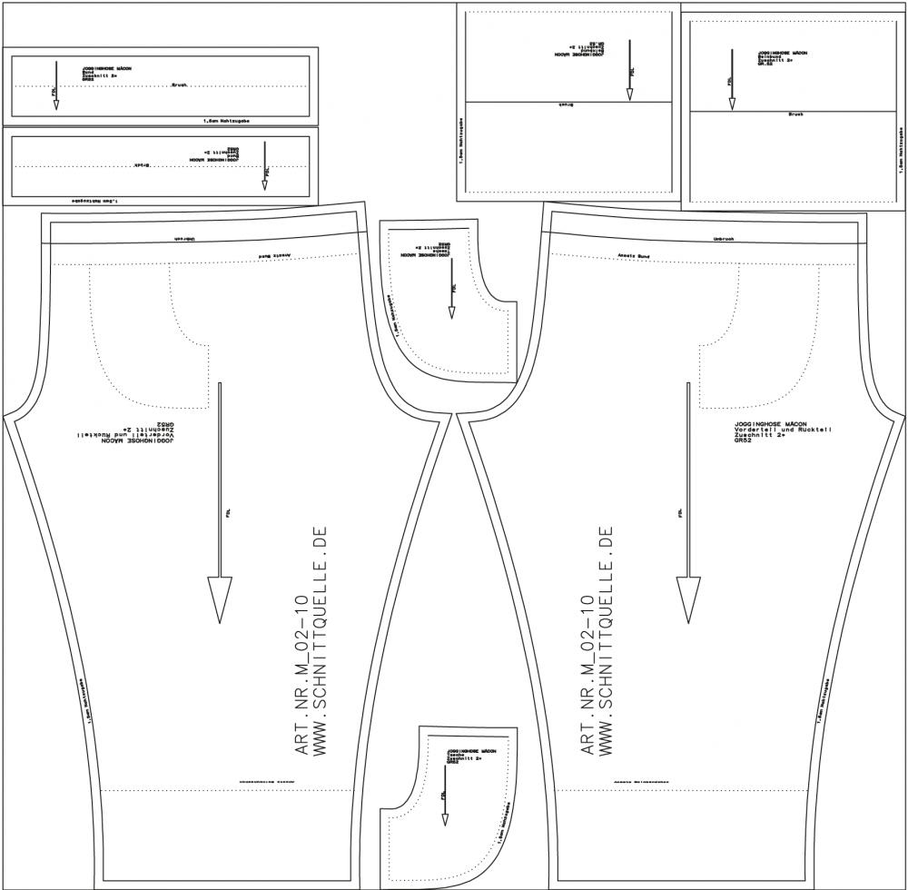 Schnittmuster fur herrenhosen | Modische Hosenmodelle